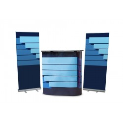 Kit stand - Counter & roll-ups